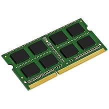 Kingston Technology ValueRAM 2GB DDR3 1066MHz Kit 2GB DDR3 1066MHz módulo de - Memoria (DDR3, Portátil, 204-pin SO-DIMM, Oro, 256M x 64, 1 x 2 GB)