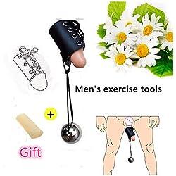 BONDAGE Kit de Ejercicios de Camilla de Peso físico para Hombres Sistema de Camilla para Colgar Peso Extender Stretcher Hanger Enlarger Extension Belt para Hombres