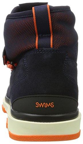 Swims Herren Storm Gaitor Desert Boots Mehrfarbig (Navy/Black/Orange)