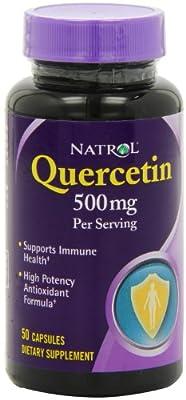 Natrol Quercetin (500mg, 50 Capsules)