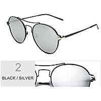 TIANLIANG04 Cat Eye Sunglasses Per Le Donne Del Rotonda Occhiali Guida Occhiali Da Sole Polarizzati Uomini,Multi Purple