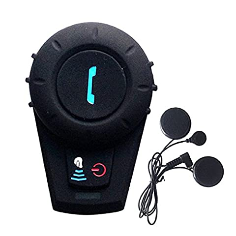 FreedConn FDCVB Motorradhelm Kommunikation Headset Bluetooth Intercom Lautsprecher f¨¹r Motorrad Reiten Skifahren 2-3 Reiter Vollduplex Handsfree BT 800M 500M / 0.3MI (1 St¨¹ck mit Softkabel)