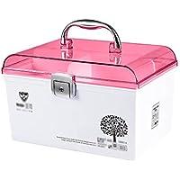 Mizii Medizin-Box Haushalts-Kunststoff-Medikamentenbox mit Sicherheitsschloss Tragbare Erste-Hilfe-Box Kann Tragbar... preisvergleich bei billige-tabletten.eu
