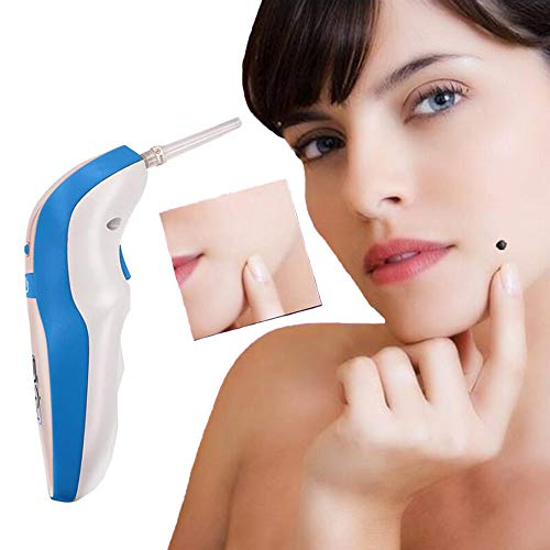 Mole Removal, Skin Tag Remover Kit Gesichtshaut Plasma-Heber Für Entfernen Freckles/Mole Anti-Aging Beauty Equipment Tool (Unisex) Weiß