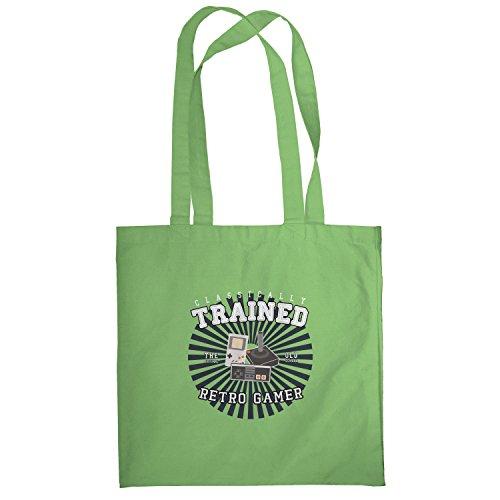 Texlab–Classically Trained–sacchetto di stoffa Verde chiaro