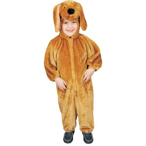 Dress up America Toddler T4 Puppy Plush Costume -