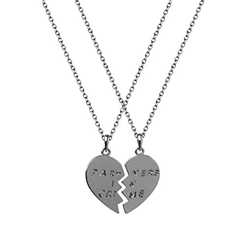 Lux accessori partner in Crime San Valentino detached Cuore Best Friends collane (2 pc)