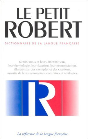 Le nouveau petit Robert: dictionnaire alphabetique et analogique de la langue francaise by Alain Rey (2000-01-30)
