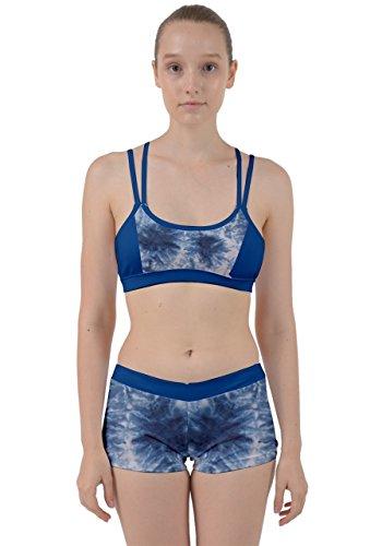 CowCow -  Vestito  - Donna Dull Blue Tie Dye