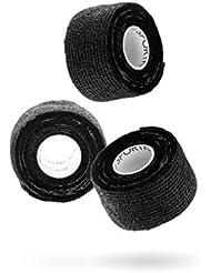 SPORTHACKS Tape - 3x elastisches, selbsthaftendes & hautfreundliches Sporttape | 3,8cm x 6m