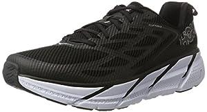 Hoka One One Men's Clifton 3 Running Shoes, Black (Black/Anthracite), 9 UK 43 1/3 EU