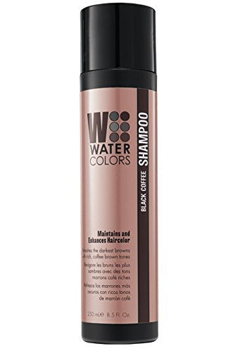 Tressa Watercolors Black Coffee Shampoo Maintains and Enhances Haircolor 8.5 fl. oz. NEW PACKAGING! by Tressa