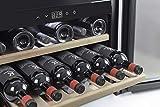 CASO WineSafe 18 EB Design Einbauweinkühlschrank für bis zu 18 Flaschen (bis zu 310 mm Höhe), eine Temperaturzone 5-22°C, Energieklasse A - 4