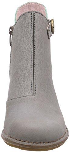 El NaturalistaColibri - Stivali classici imbottiti a gamba corta Donna Grigio (Grau (Grey-Mint))