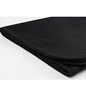 Housse de Protection pour Coffre - BADALINK Couverture de Protection Imperméable Robuste 133x145cm Noir