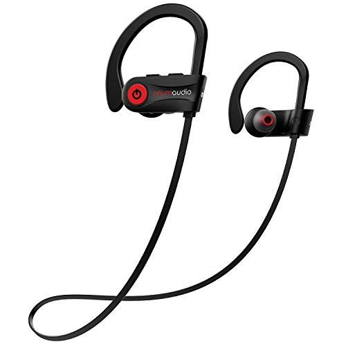 Bluetooth Kopfhörer Sport, Otium IPX7 Wasserdicht Sportkopfhörer Reichen Bass/Bluetooth 4.1 Sport Kopfhörer Joggen/Laufen/Fitness, In Ear Kopfhörer mit Mikrofon