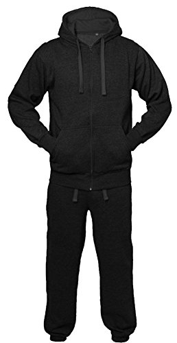 Kids Boys Girls Unisex Plain Casual Tracksuit Sweat Pants & Hoodie - Nike Schattierungen
