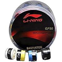 ARFA Li-Ning GP-20 Foam Badminton Racket Grip (Assorted Colour) -Set of 4