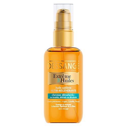 Dessange - Extrême 3 Huiles Sublime Nutri-Régénérante Pour Cheveux Dénaturés - 100 ml
