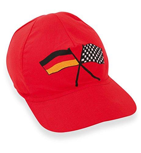 Rennfahrer Basecap Mütze Rennfahrermuetze Rennfahrer Cap Base Cap Fasching Kostüm Kinderkostüm (Car Racing Kostüm Für Jungen)