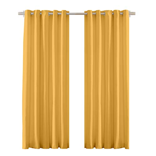 check MRP of yellow curtains Cortina