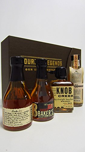 other-bourbons-bookers-bakers-basil-haydens-knob-creek-miniature-gift-set-whisky