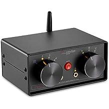 Nobsound Little Bear mc403Mini 4Lot de 3Out audio Selector Box 3.5mm/RCA/Bluetooth 3Speaker/amplificateur Selector Splitter Box Récepteur Bluetooth 4.0passive Lampe Répartiteur Audio