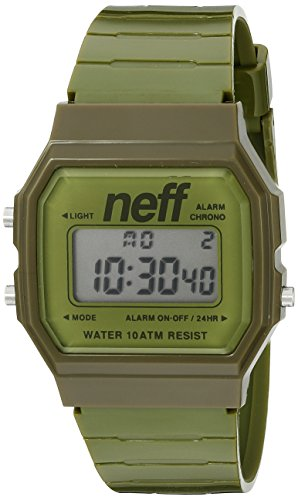Neff Flava Xl Surf Watch Uhr - army osfa (Surf-uhr-digital)