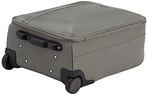 41 e0Xdv0VL - Calvin Klein  Trolley para portátiles, 55 cm, 44 L, Gris