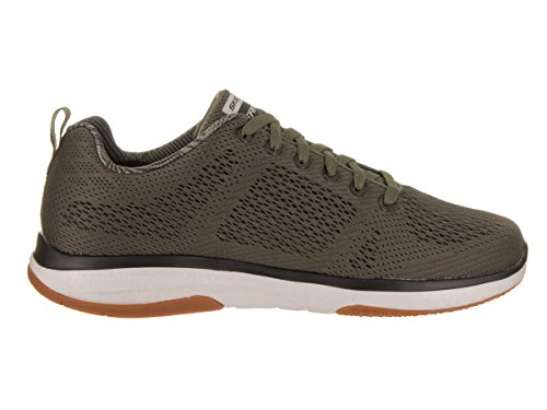Skechers Burst TR Coram Synthétique Baskets Olive