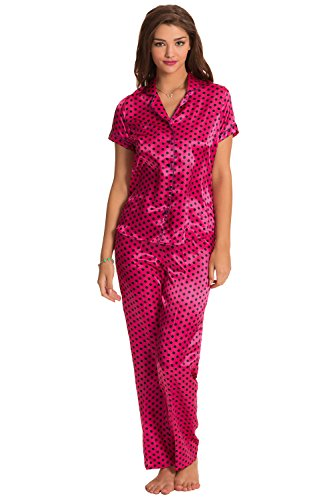 Prettysecrets Women's Satin Pyjama Set
