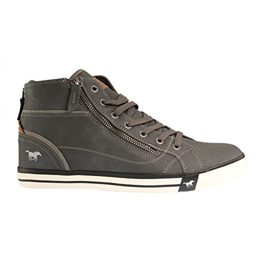 Mustang 1209502, Sneakers Hautes femme Graphite