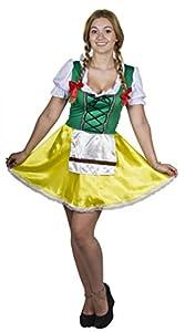 I Love Fancy Dress ILFD4503S-Disfraces de Mujer, Baviera (pequeño)