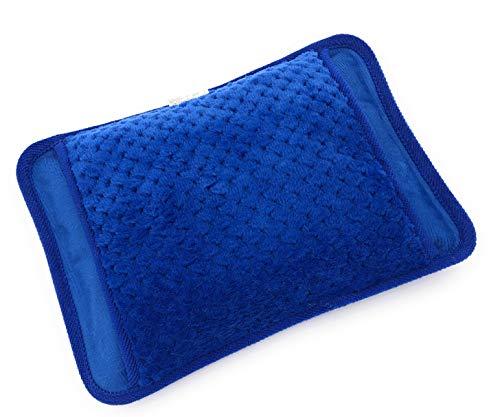 MovilCom® Elektrische Wärmflasche mit Bezug | Wiederaufladbar in 15 Minuten | Heizkissen / Handwärmer, 600 Watt | Ideal bei Schmerzen von Rücken, Muskeln, Gelenke, Menstruation, Rheuma (Mod.11)