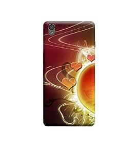 Ebby Premium Printed 3D Designer Back Case Cover For OnePlus X (Premium Designer Cae)