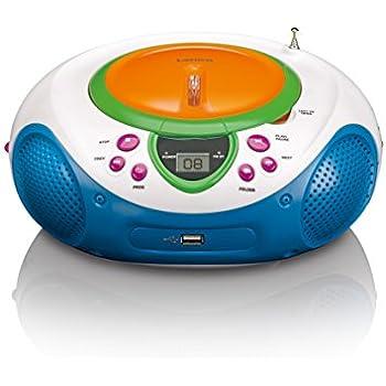 lenco scd 40 usb enfants cd lecteur mp3 avec radio fm. Black Bedroom Furniture Sets. Home Design Ideas