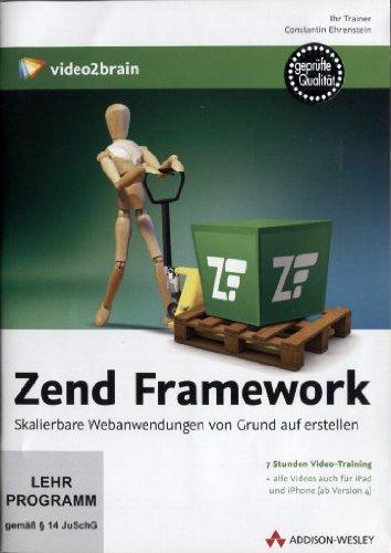 Preisvergleich Produktbild Zend Framework - Video-Training (PC+MAC+Linux)