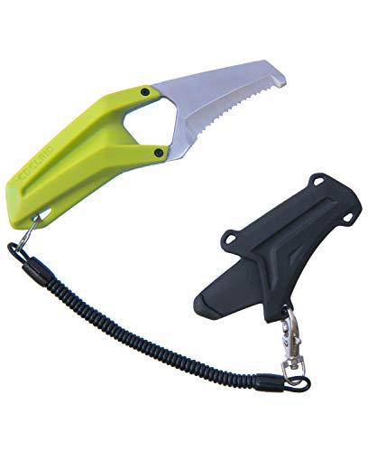 Edelrid Unisex- Erwachsene Messer Rescue Canyoning Knife, Oasis, Klein