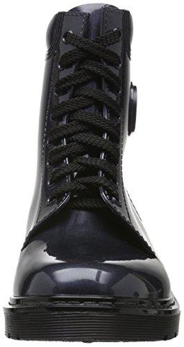 Navy Kurzschaft Armani dark Jeans 31835 Stiefel 9251186a520 Damen Blau Owa1q0w