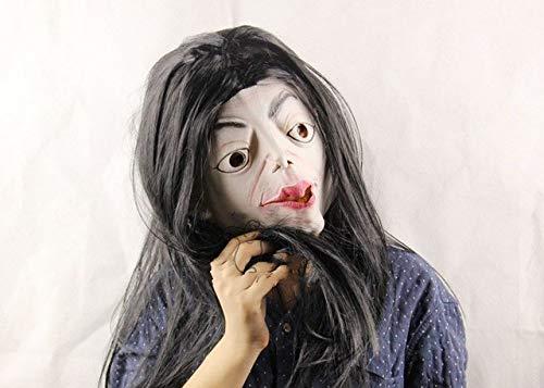 Von Bilder Zombie Kostüm - JNKDSGF HorrormaskeVerkauf von realistischen Spielzeug Kostüm Requisiten Latex Freddy Maske Halloween Horror Ghost Zombie Freddy Jason Maske-Bild Farbe