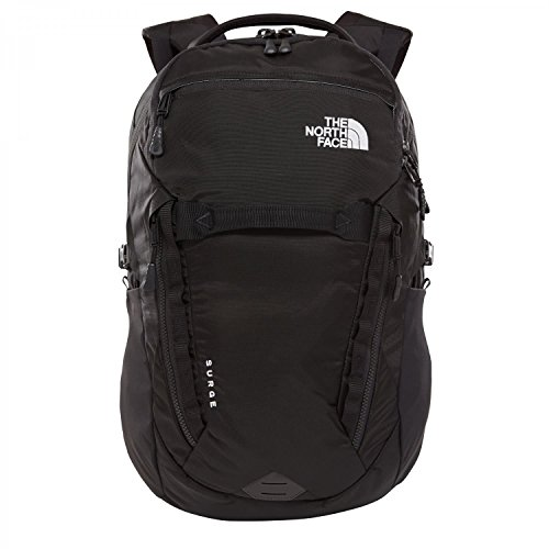 The north face, surge, zaino, unisex adulto, nero (tnf black), taglia unica