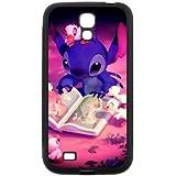 Lilo & Stitch goma silicona Sugar Skull Galaxy S4Carcasa durable Rubber Silicone material Case Cover for Samsung Galaxy S4i9500