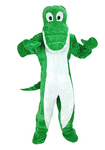 KROKODIL KOSTÜM GR. M - L -XL FASCHING KARNEVAL MASKOTTCHEN FASCHINGSKOSTÜM NEU (Maskottchen Kostüme)