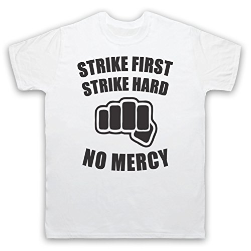 Inspiriert durch Karate Kid No Mercy Unofficial Herren T-Shirt Weis