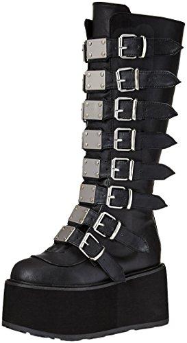 Demonia DAMNED-318 Blk Vegan Leather UK 5 (EU 38) -