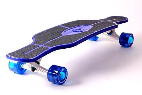 Dragonskate mini Longboard Cruiser 79 cm, ABEC 11 (Blau) -
