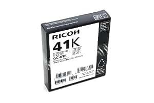 Ricoh GC 41K Cartucce d'Inchiostro, 500 Pagine, Nero