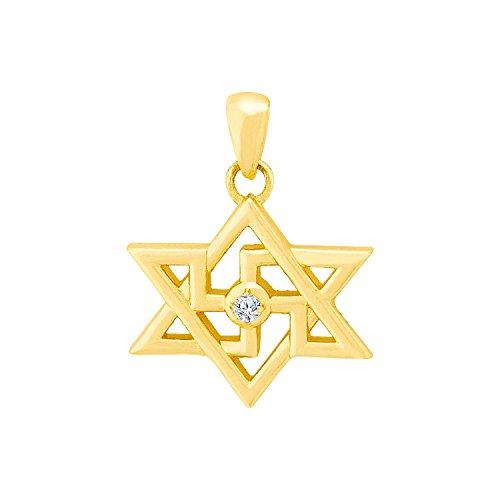 Voylla Spiritual Saga Star Swastika Pendant
