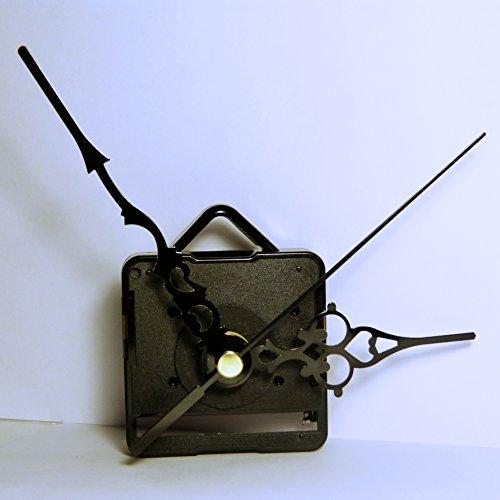 Nicht tickendes Sweep-Uhrwerk, Quarz-Uhrwerk, schwarze, gebraucht gebraucht kaufen  Wird an jeden Ort in Deutschland