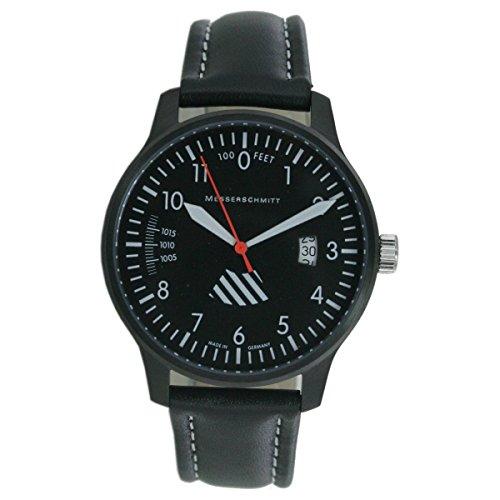 Aristo Hombre Messerschmitt Reloj Planeador Reloj Me de 42alti de l piel